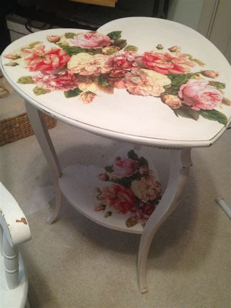 Decoupage Tables - 17 best images about decoupage on vintage