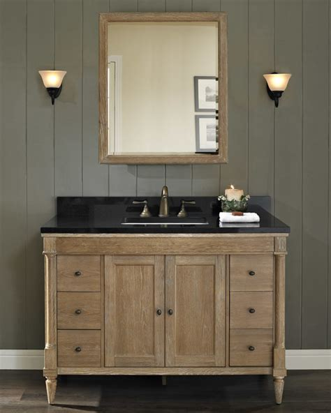 rustic chic bathroom vanity fairmont rustic chic 48 quot vanity modern bathroom milwaukee by gerhards the
