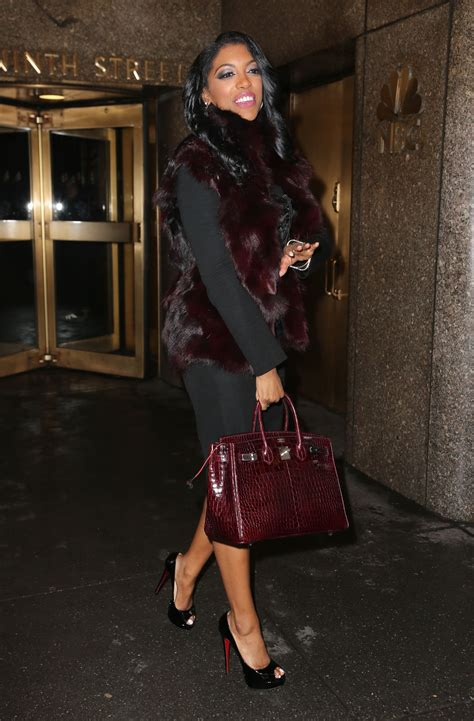 porsha williams handbag porsha williams style leaving the nbc studios in new