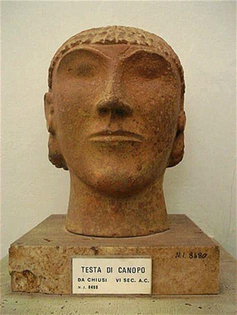 vaso funerario egizio etruschi