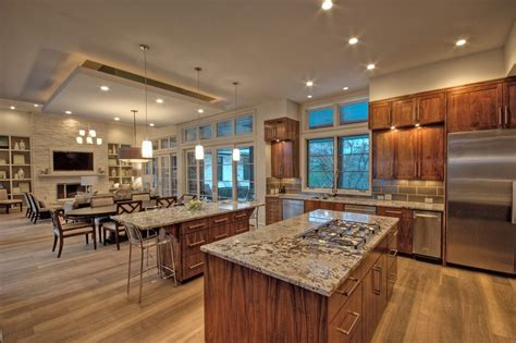 open floor plan ideas open floor plan decorating ideas kitchen transitional with