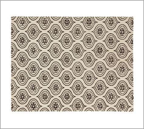 Pottery Barn Moorish Tile Rug Taupe Tile Pattern Rug