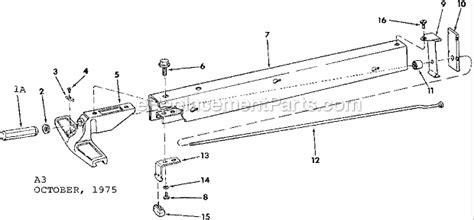 Craftsman Table Saw 113240421 Ereplacementparts Com