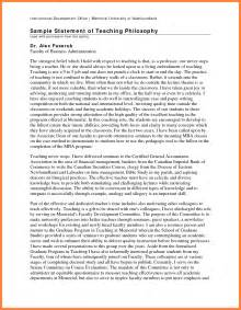 Teaching Philosophy Template by Teaching Philosophy Template Teaching Philosophy Exles