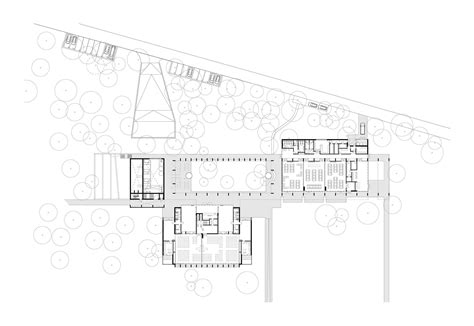 crematorium floor plan gallery of a2o architecten wins competition for