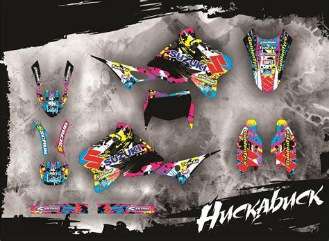 drz 400 dekor suzuki drz dekor im design huckabuck mx kingz motocross shop