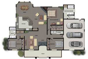 New Home Blueprints Floor Plans