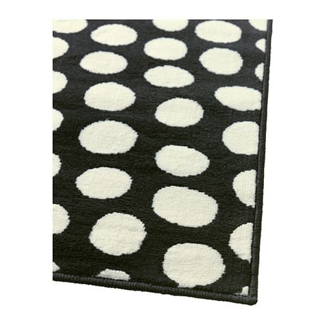 Black And White Polka Dot Rugs by Ullgump Black White Polka Dot Low Pile Area Rug
