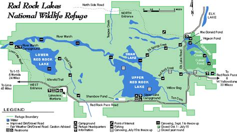 lakes in montana map map of rock lake national wildlife refuge in montana