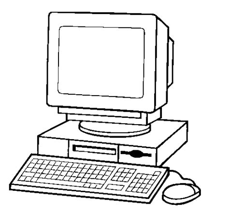 Modern Computer Coloring Sheets Coloring Pages Computer Coloring Page