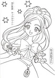 pretty coloring pages pretty cure coloring book