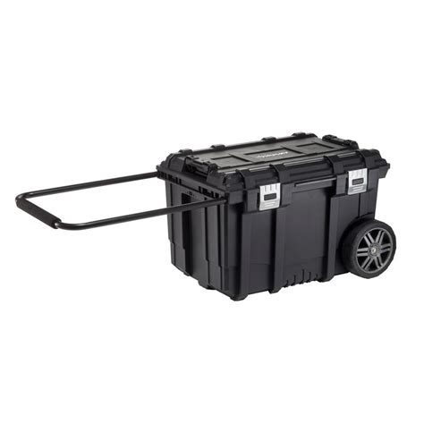 husky 26 in connect mobile tool box black 228224 the