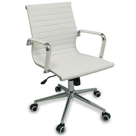 Office Chairs On Hardwood Floors New White Modern Ribbed Office Chair With Specialized