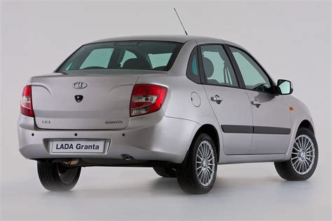 Lada De New Lada Granta Sedan Photos And Details
