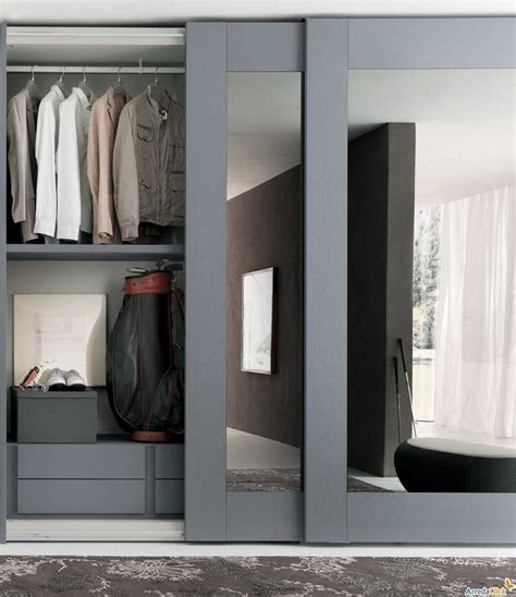 Sliding Mirror Closet Doors With Gray Hair Mirrored Sliding Closet Mirror Doors