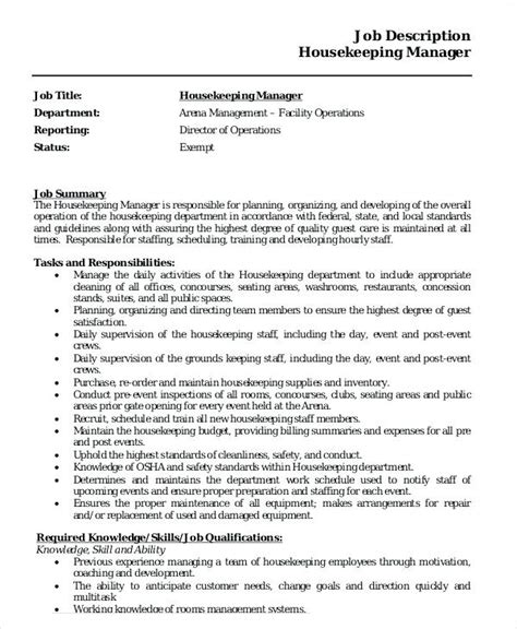 Resume For Housekeeping Supervisor 50 Best Templates