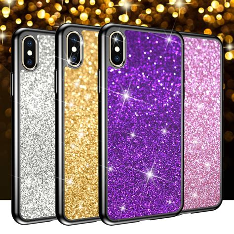 dagudon glitter soft for iphone xr xs x 8g 7g 6g 5g phone for samsung galaxy s9 s8 s5