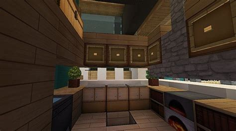 modern kitchen minecraft modern streamlined blues luxury seaside home minecraft