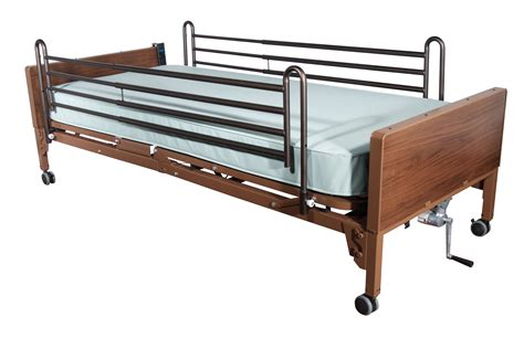 electric bed with rails and foam mattress baltimore maryland