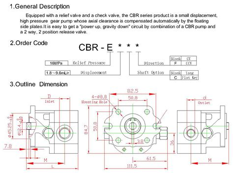 cbr series cbr series gear pump