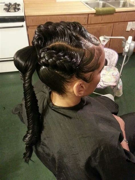 human hair ponytail with goddess braid 3d goddess braids with fishtail ponytail braids