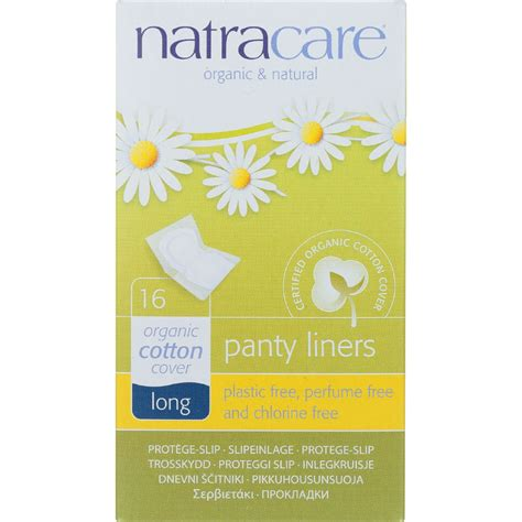 most comfortable panty liners natracare panty liners long wrapped 16 count