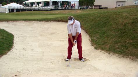 paul goydos golf swing paul goydos sand play tips for greenside bunkers golf