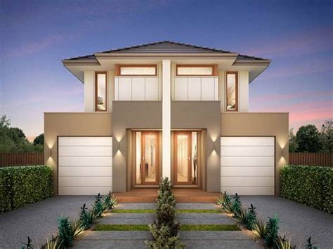 Modern Home Design Duplex | small modern duplex house plans and pictures modern house