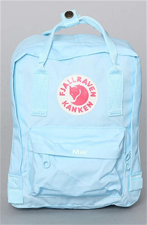 fjallraven kanken light purple fjallraven the kanken mini backpack in light blue