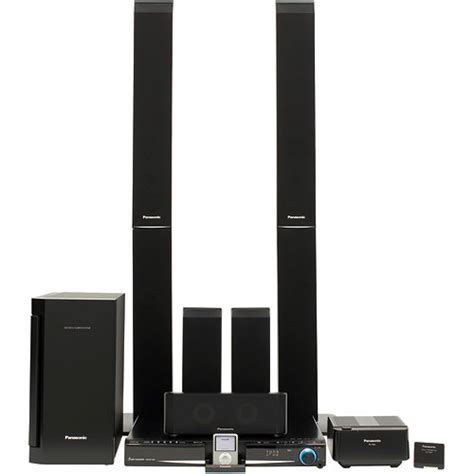 Home Theater Panasonic panasonic sc pt960 home theater system sc pt960 b h photo