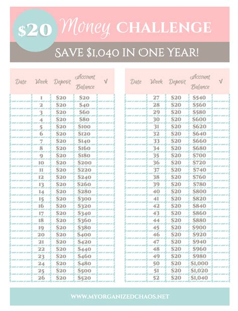 new year two week 2 easy money savings challenges my organized chaos