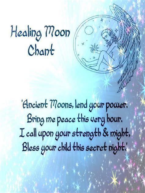 healing spell moon chant spells witchcraft moon spells