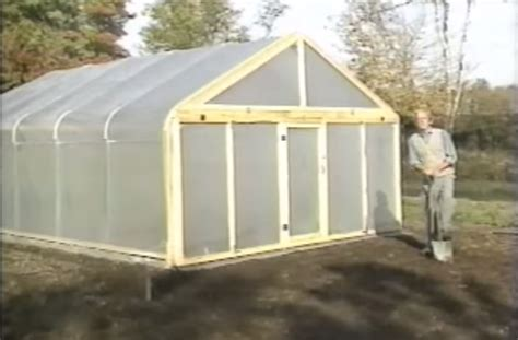 how to make a green house how to build a metal frame greenhouse for 600 off grid