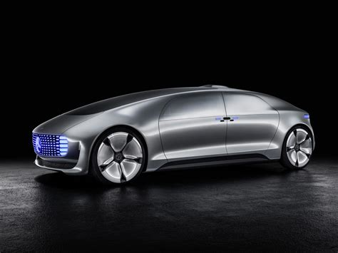 Mercedes F 015 Luxury in Motion Concept Is A Self Driving