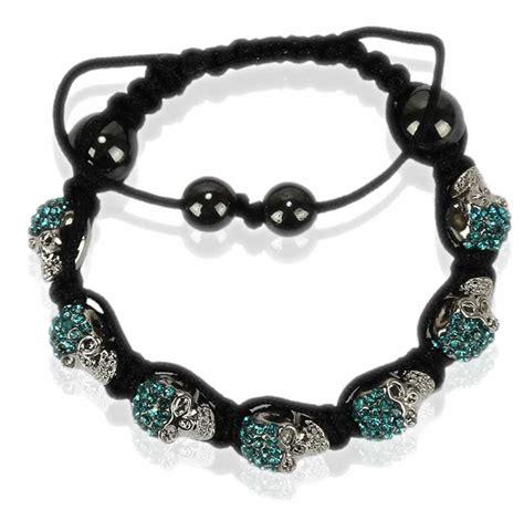 Skull Bracelet wholesale teal skull bracelet