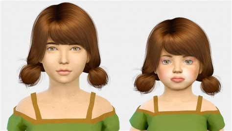 child bob haircut sims 4 wings os0626 kids toddlers at simiracle 187 sims 4 updates
