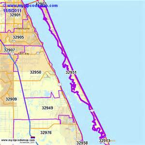 melbourne florida zip code map zip code map of 32951 demographic profile residential