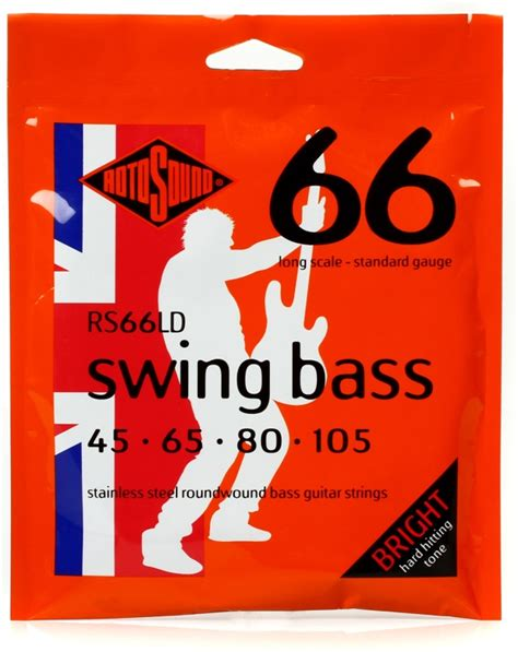 rotosound swing bass strings rotosound swing bass strings rs66ld jimi s music store