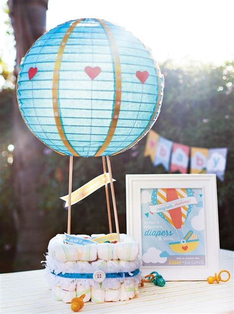 How To Make Paper Diapers For Baby Shower - 19 paper lantern d 233 cor ideas for baby showers shelterness