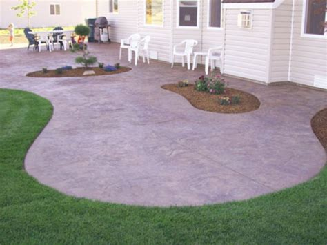 Patio Designs Curved Concrete Patio Valley Patios Indio Palm Desert