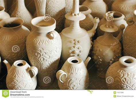 Pots And Vases by Clay Pots And Vases Royalty Free Stock Photos Image