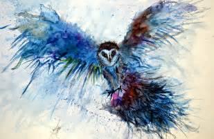 water color owl watercolour owl by tarik sahin on deviantart