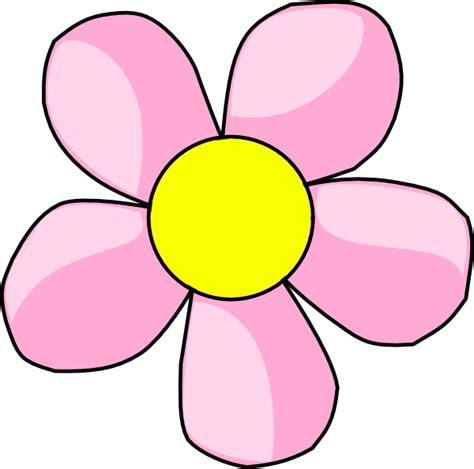 Pink Flower Clipart pink flower 10 clip at clker vector clip