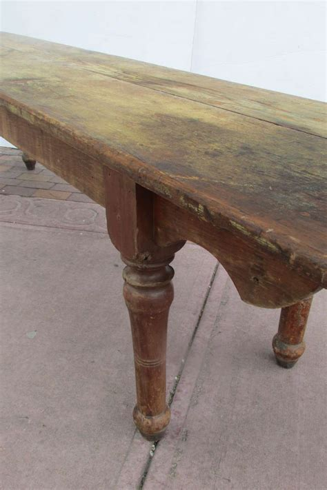 american 19th century pine harvest farm table at 1stdibs