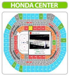 Honda Center Seat Map Honda Center Tickets Great Seats Great Prices