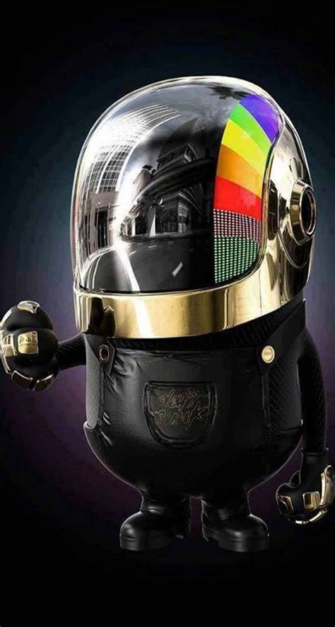 Daft Punk Minion   The iPhone Wallpapers