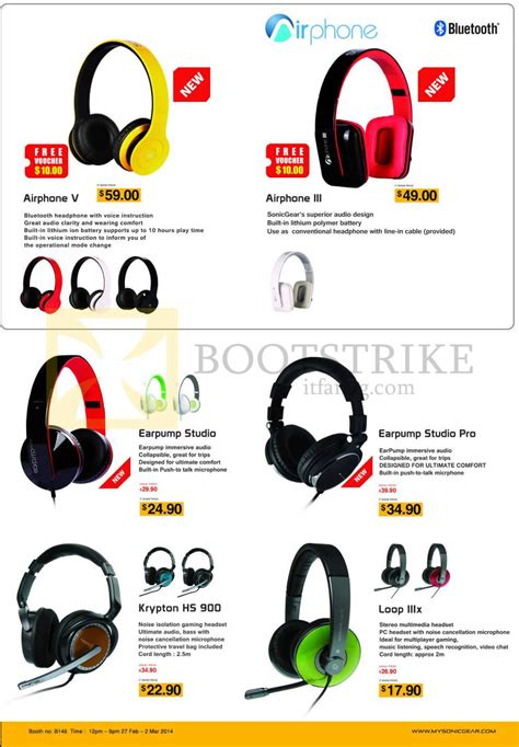Headset Bluetooth Sonic Gear sonic gear bluetooth headphone images
