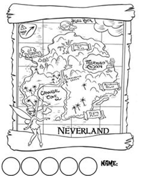 neverland map coloring page pirate treasure map gif 355 215 400 jake and the neverland