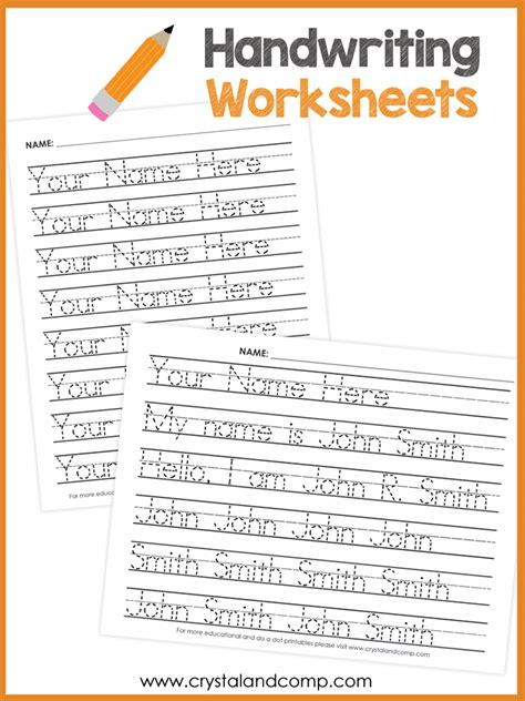 Create Your Own Handwriting Worksheets by Pictures Name Writing Worksheet Toribeedesign