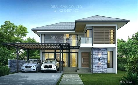 contemporary modern design style lolipu thai style house plans
